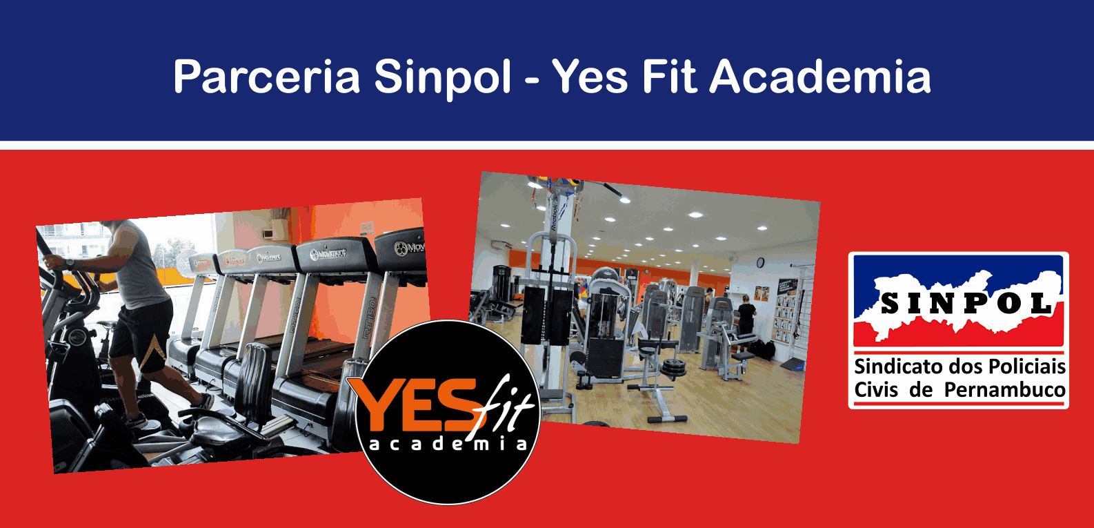 banner parceria Sinpol Yes Fit