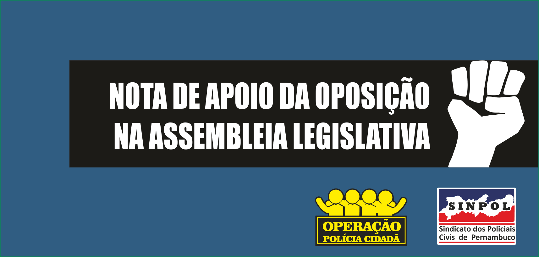 BANNERS SINPOL-OPOSICAO